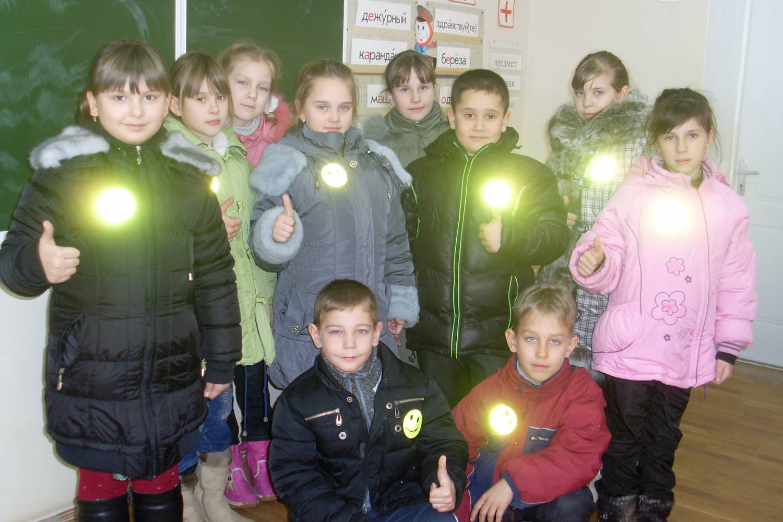 Светоотражатели своими руками фото